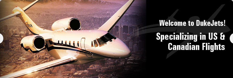 DukeJets - Your premier aviation charter agent